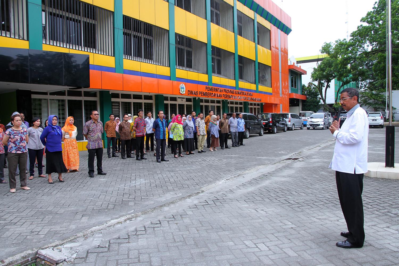 Sambangi Sejumlah SKPD Sumut Gubernur Ingatkan Disiplin dan Pemahaman Tupoksi