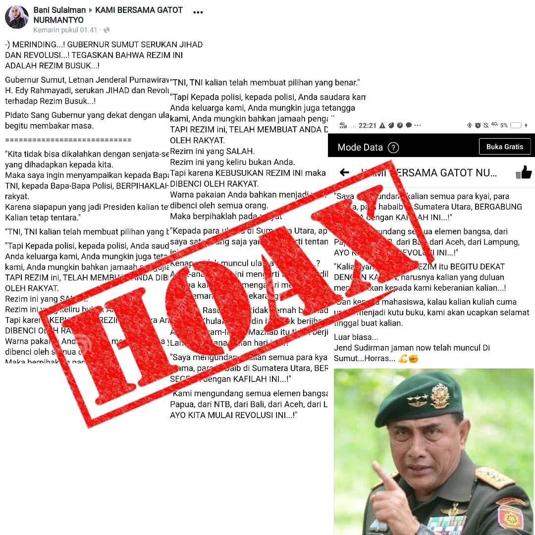 menangkal informasi/ berita HOAX