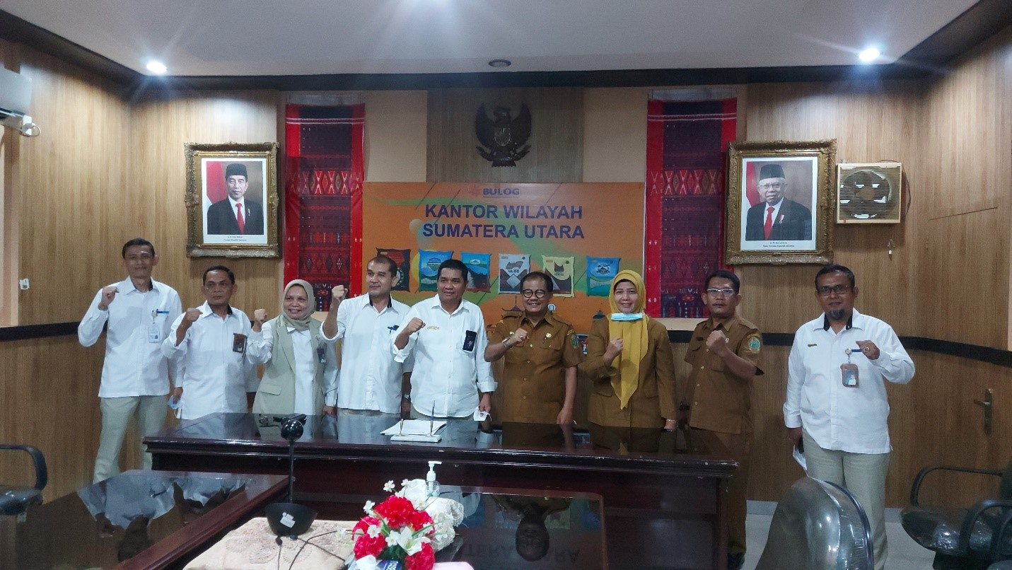 Pemprov Sumatera Utara dan Perum Bulog Teken Nota Kesepakatan
