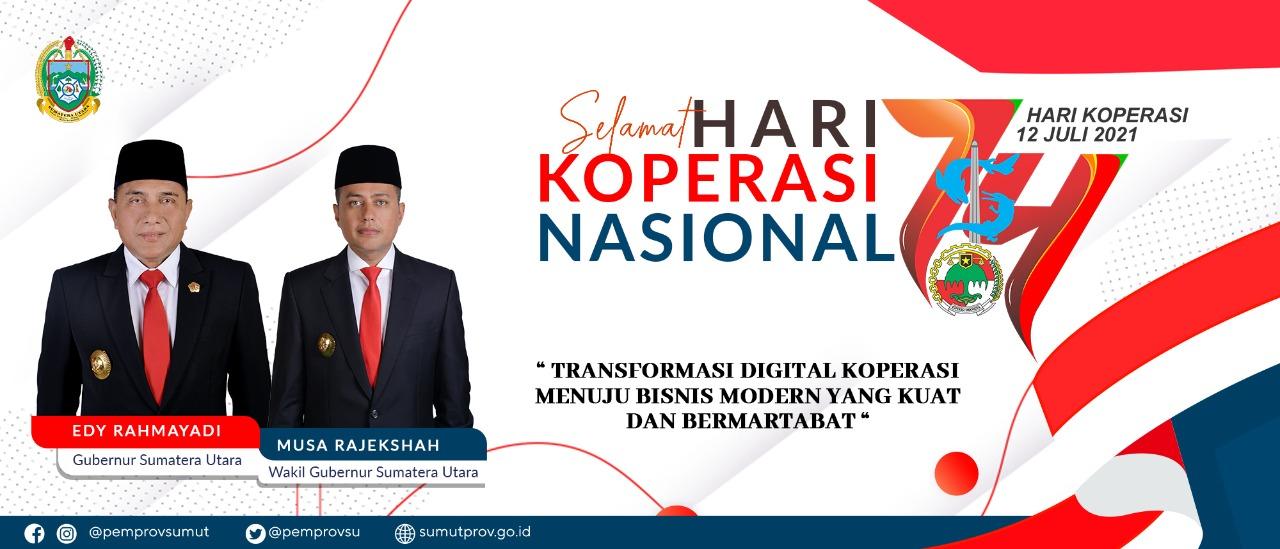 Selamat Hari Koperasi Nasional