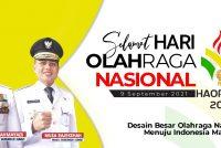 Selamat Hari Olah Raga Nasional Tahun 2021