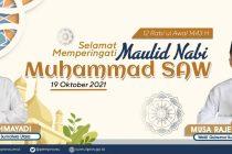 Selamat Memperingati Maulid Nabi Muhammad SAW